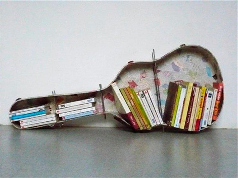3 moduri creative de a amenaja raftul de carti