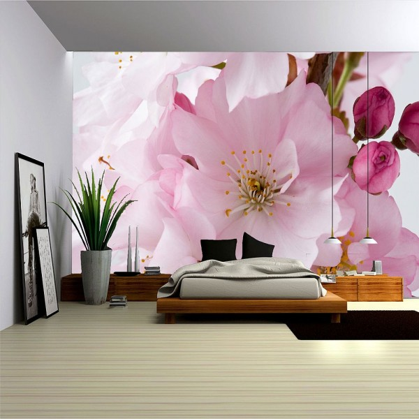 Modele florale de fototapet