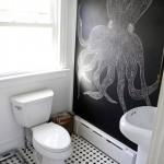 Decor eclectic pentru o baie altfel