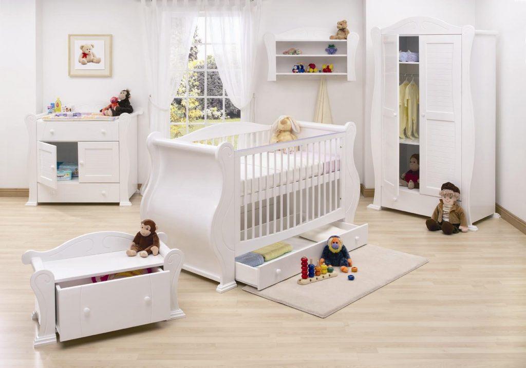 Camera nou-nascutului - decor practic