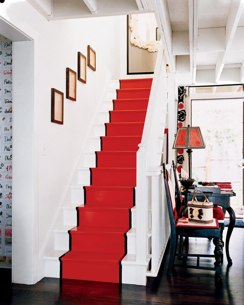 Idei inedite pentru decorul scarii interioare