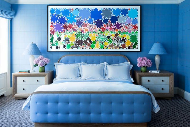 Cum ai putea sa nu introduci cateva nuante de albastru in decorul tau interior, mai ales daca aceasta este culoarea ta preferata?