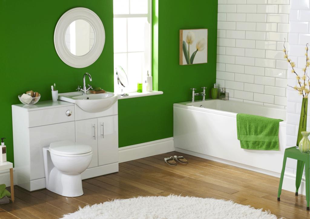 O baie vesela, un spatiu perfect pentru relaxare