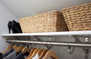 Organizare in dressing - cum sa il mentii ordonat mai mult timp
