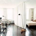 Compartimentarea spatiului intr-un apartament cu o camera