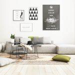 Stilul minimalist în amenajarea livingului