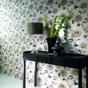 tapet floral elegant